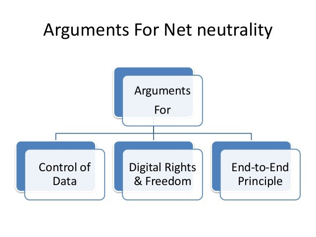 • Control of Data:- Supporters of net neutrality want to designate cable companies as common carriers, which would require...