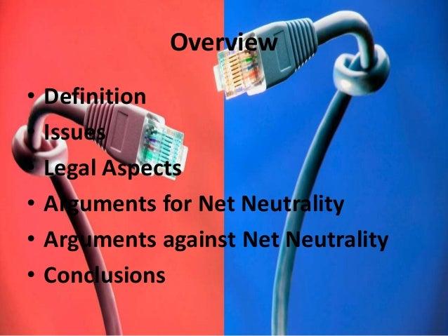 Net neutrality & it's legal issues Slide 2