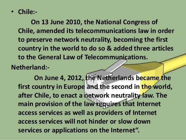 Arguments For Net neutrality Arguments For Control of Data Digital Rights & Freedom End-to-End Principle