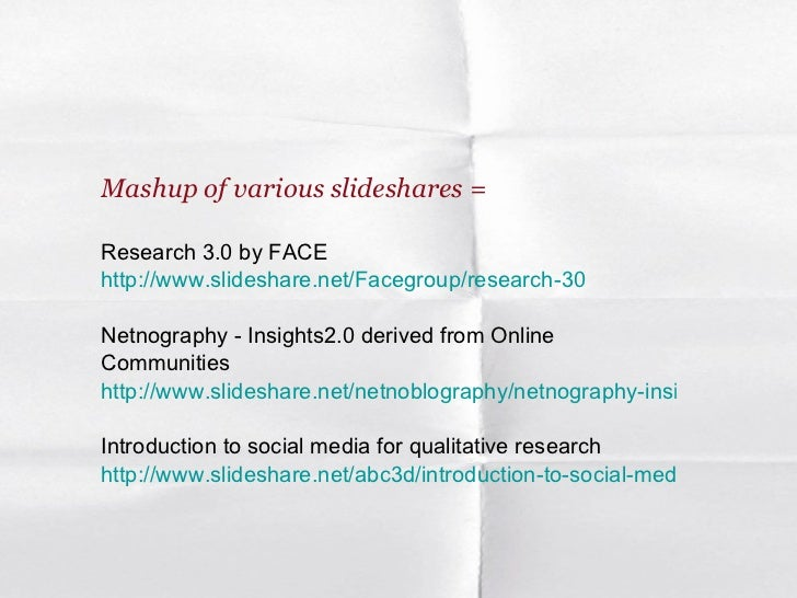 What is social media research (Netnography + insight communities) Slide 2