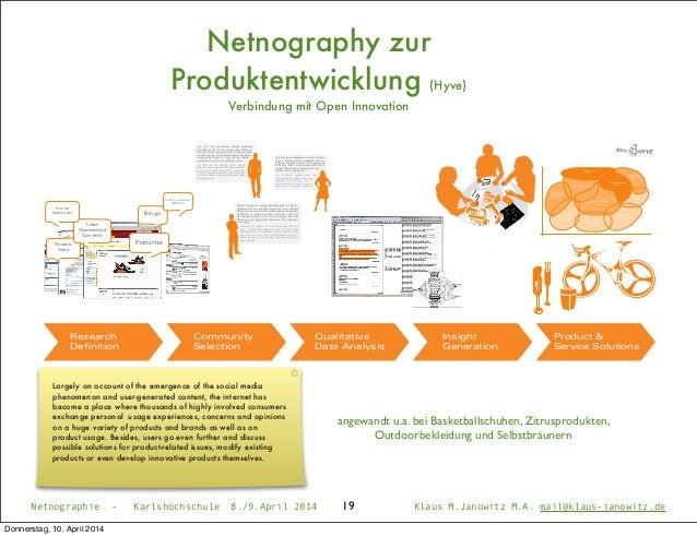 Netnographie - Karlshochschule 8./9.April 2014 Klaus M.Janowitz M.A. mail@klaus-janowitz.de19 © by Traditionell- Bürgerlic...