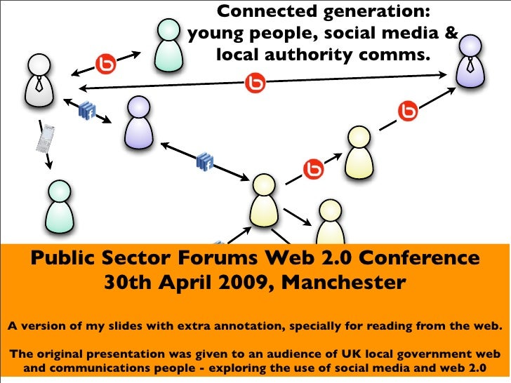Connected generation:                              young people, social media &                                 local auth...