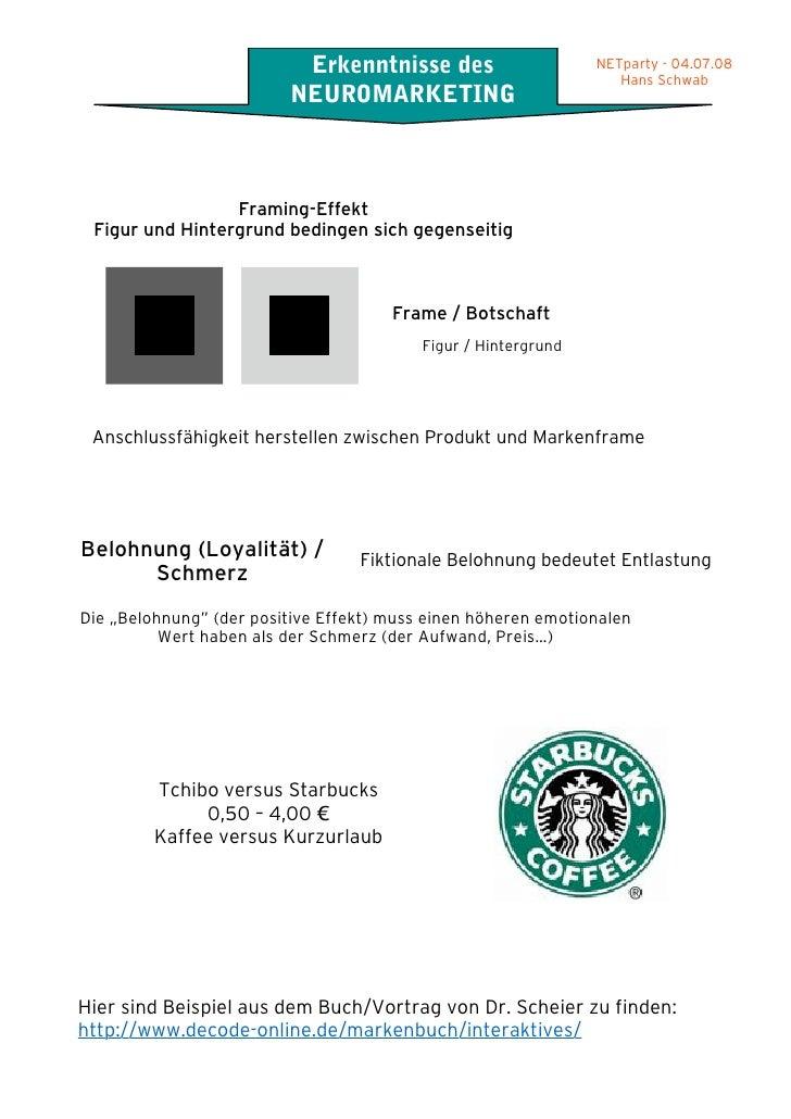 Atemberaubend Der Framing Effekt Ideen - Benutzerdefinierte ...