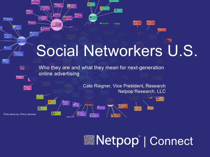 | Connect Flickr photo by: D'Arcy Norman Social Networkers U.S. Who they are and what they mean for next-generation online...