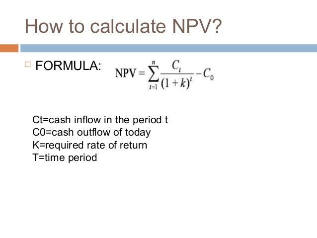 Net present value pptx