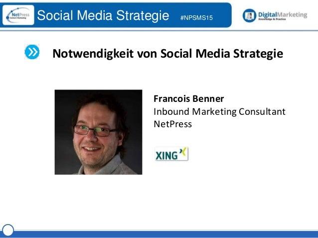 NetPress Social Media Strategie Workshop Part 1 Slide 3