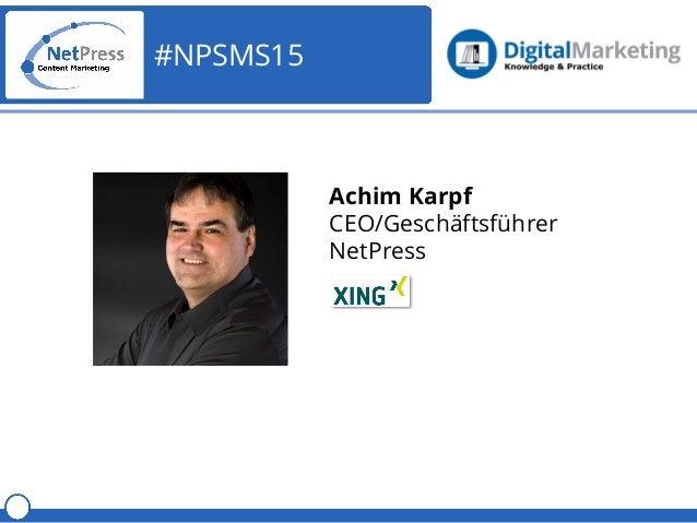 NetPress Webinar Social Media Strategie für KMUs Slide 2
