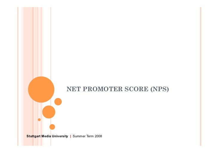 net promoter scores essay The net promoter score® (or nps, as we'll sometimes refer to it in this article) is a deceptively simple surveying technique to find customers who love your company and products, one that can get you 8-10 times more actionable data than traditional surveying methods.