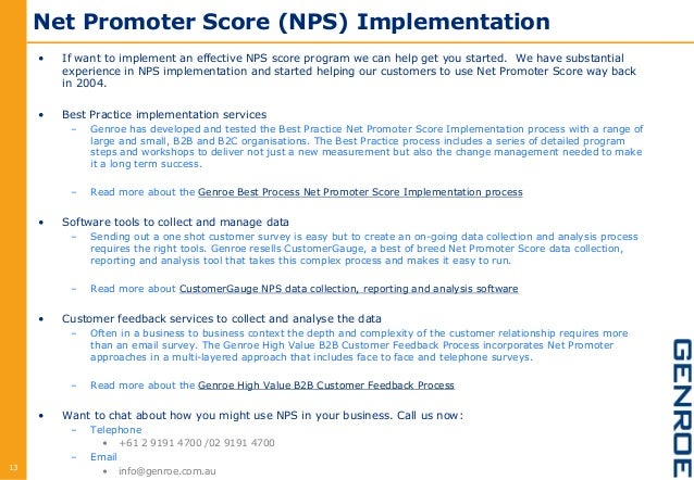 how to find net promoter score