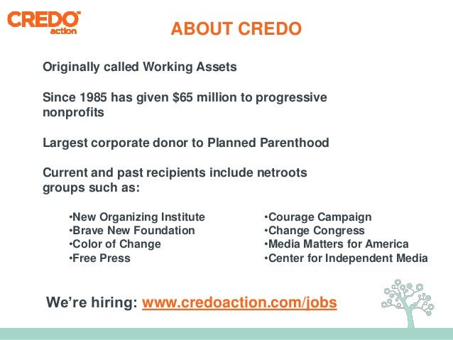 Netroots California: Growing Your Email List Slide 3