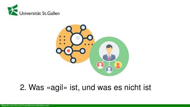 2. Was «agil» ist, und was es nicht ist Bildquelle: Icon Pond und Prosymbols von www.flaticon.com