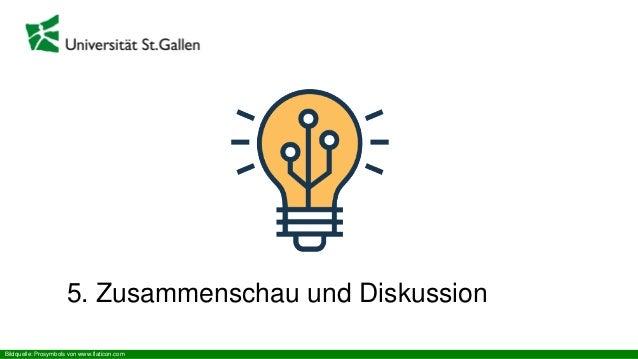 5. Zusammenschau und Diskussion Bildquelle: Prosymbols von www.flaticon.com