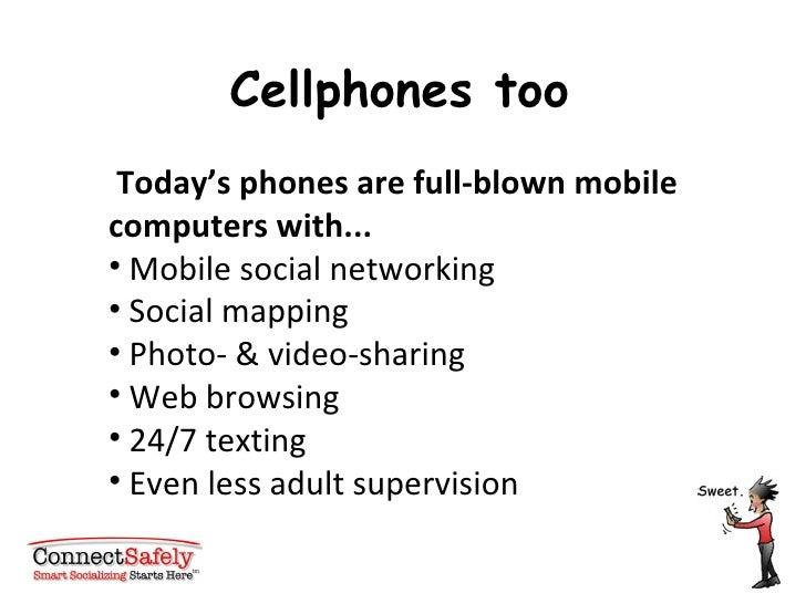 <ul><li>Today's phones are full-blown mobile computers with... </li></ul><ul><li>Mobile social networking  </li></ul><ul><...
