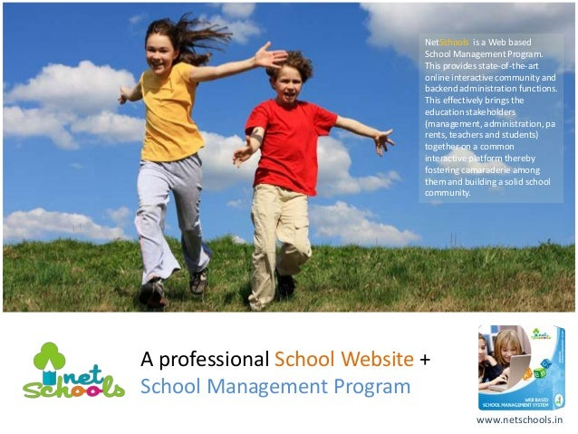 NetSchools is a Web based                              School Management Program.                              This provid...
