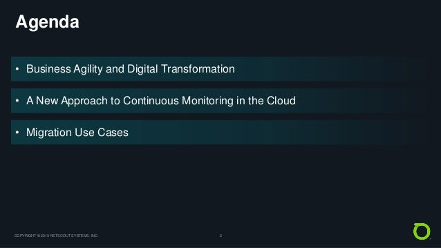 A New Approach to Continuous Monitoring in the Cloud Slide 2