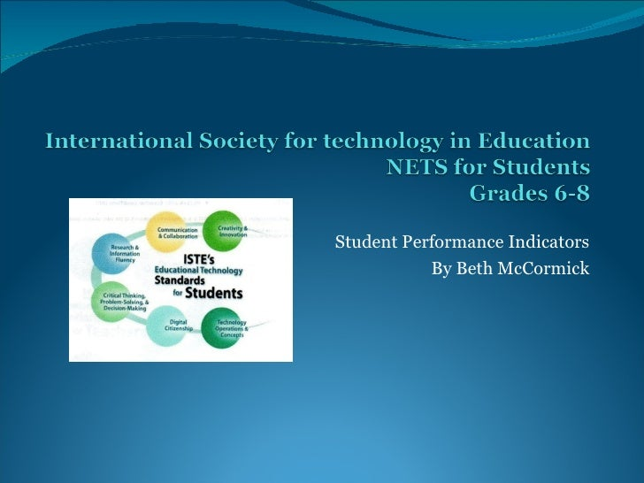 Student Performance Indicators By Beth McCormick