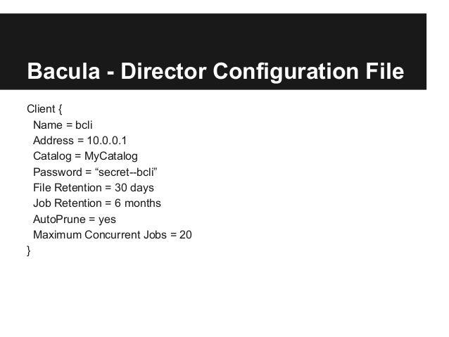 Bacula Backup Server Deployment on Ubuntu 15.04 - YouTube