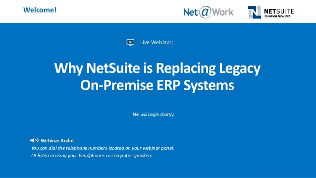 Why NetSuite is Replacing Legacy On-Premise ERP Systems
