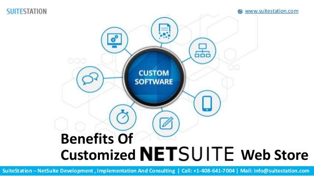 SuiteStation – NetSuite Development , Implementation And Consulting | Call: +1-408-641-7004 | Mail: info@suitestation.com ...
