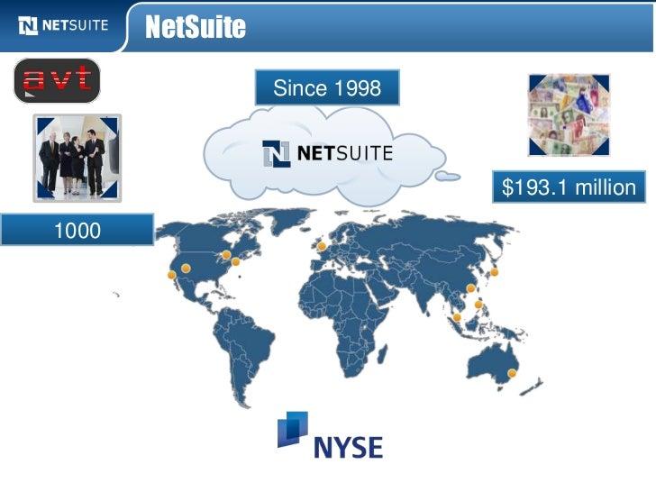 NetSuite                  Since 1998                               $193.1 million1000