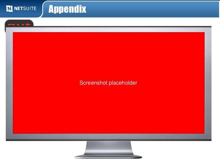 Appendix      Screenshot placeholder