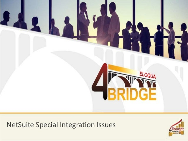 NetSuite Special Integration Issues