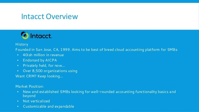 Intacct Vs Netsuite Accounting Titans