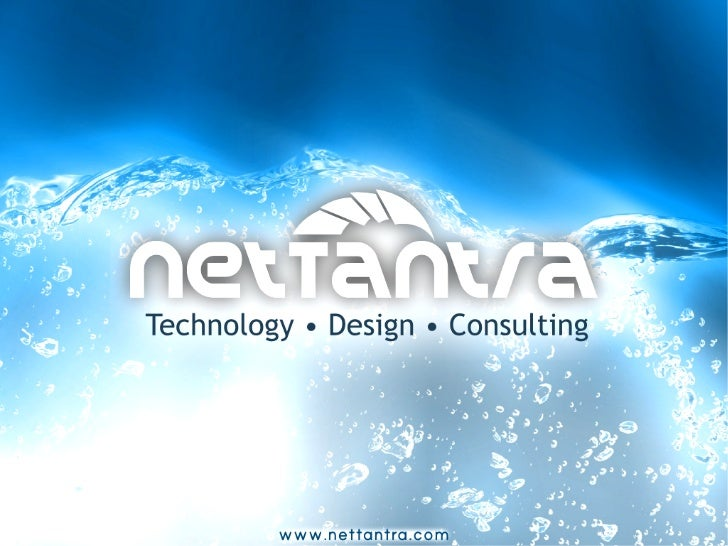 About NetTantra✔    NetTantra is a technology and UI/UX Design firm    with an edge✔    We work on the bleeding edge of te...