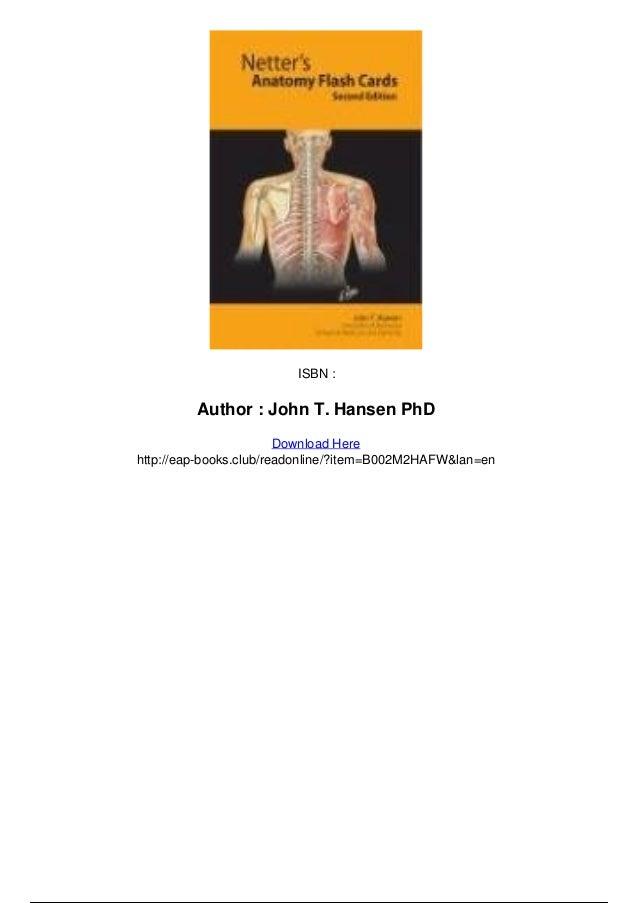 Netter Anatomy Cards Choice Image - human body anatomy