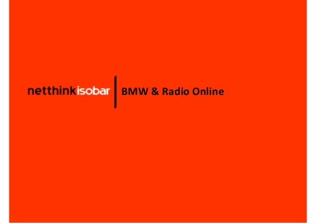 BMW & Radio Online