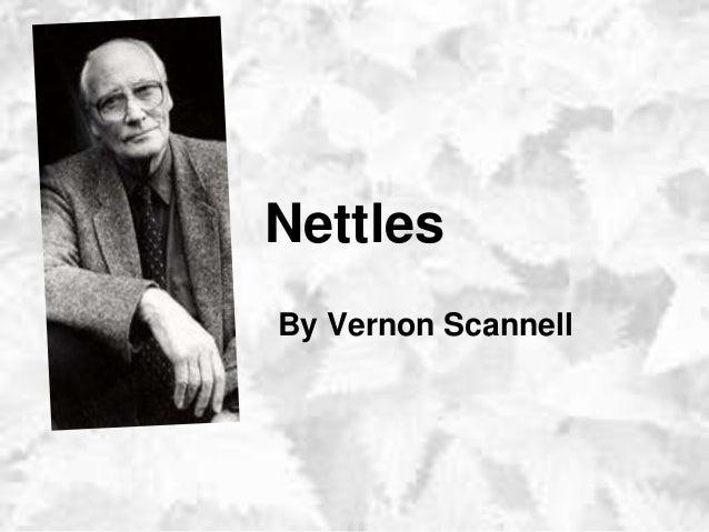 nettles by vernon scannell essay