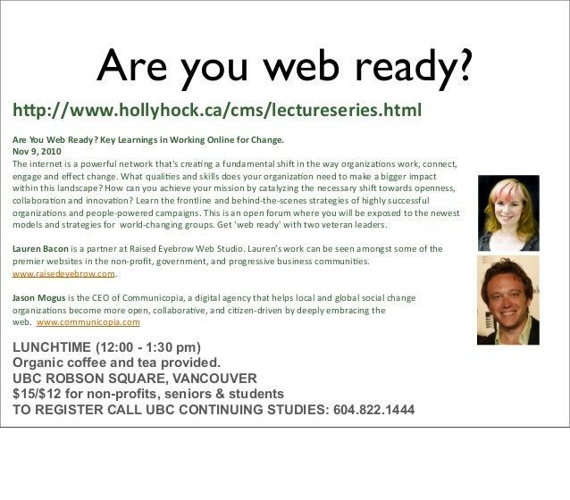 ReMixology 3 Fresh Media ReMixology 3 Saturday, November 06, 2010 from 5:00 PM - 11:00 PM (PT) Vancouver, British Columbia...
