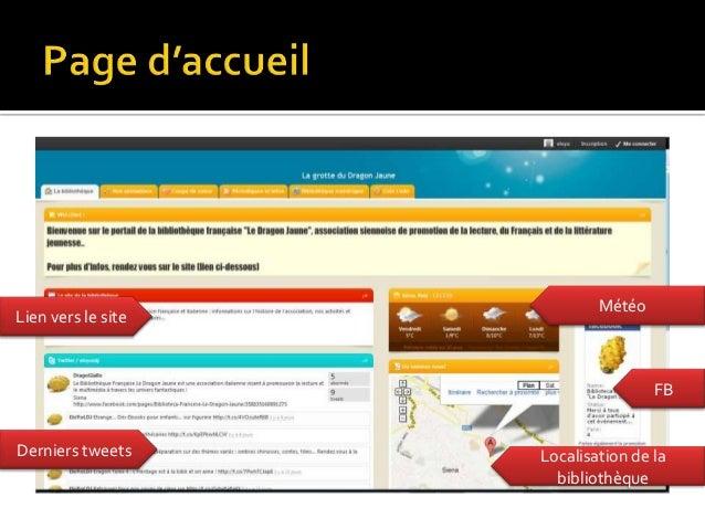 MétéoLien vers le site                                    FBDerniers tweets     Localisation de la                      bi...