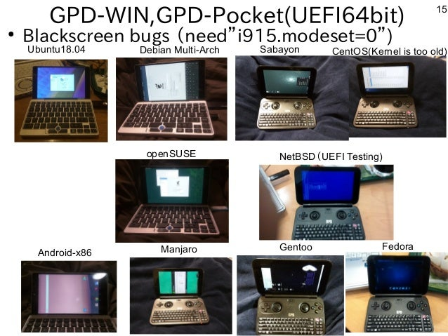 Hacking with x86 Windows Tablet and mobile devices on Debian