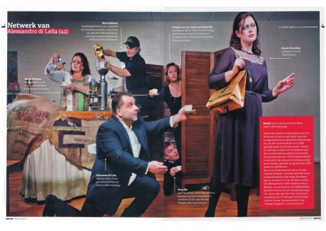 Netwerk van Alessandro Di Lella - SPROUT magazine - nr 01 februari 2013