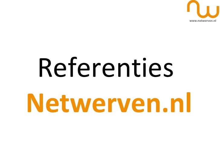 Referenties  Netwerven.nl