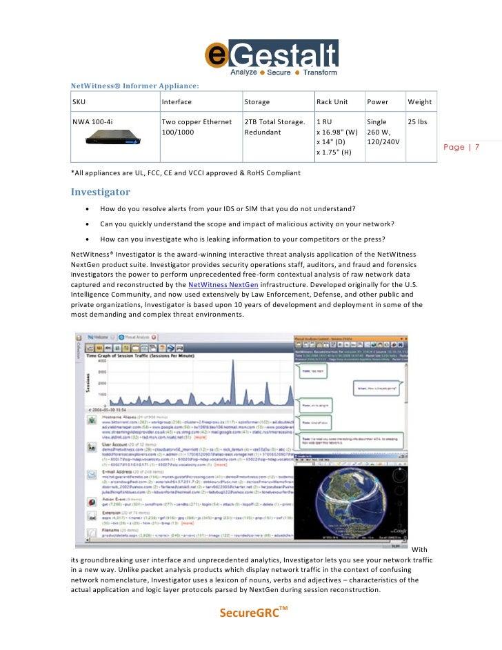Download NetWitness Investigator