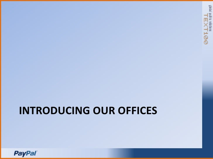 Introducing our offices<br />