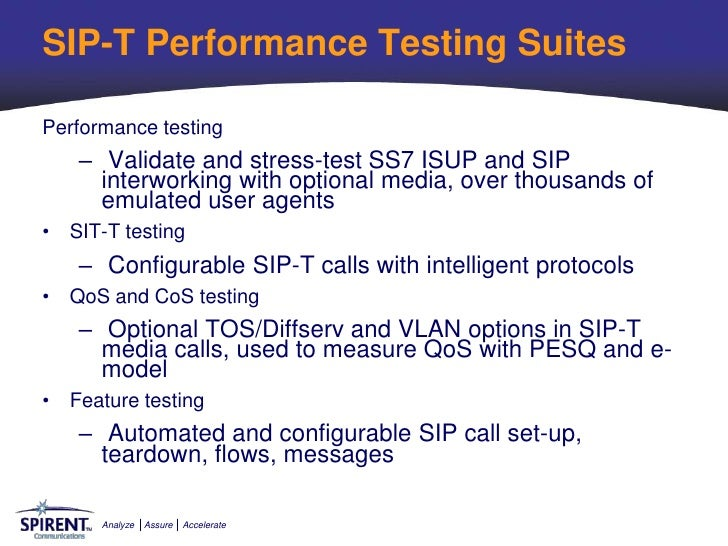 Network Assurance and Testing During the Migration to VoIP