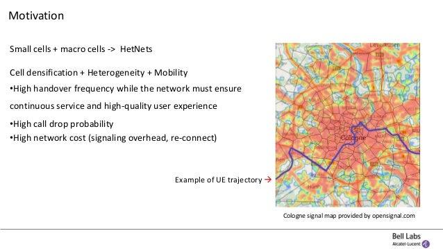 Network-based UE mobility estimation in mobile networks Slide 2