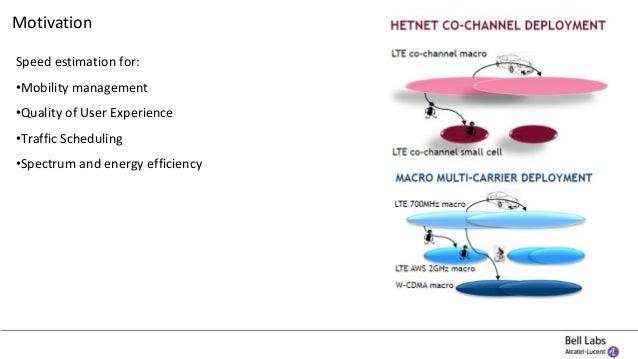 Network-based UE mobility estimation in mobile networks Slide 3