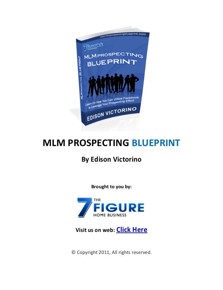 Network Marketing Prospecting Strategy