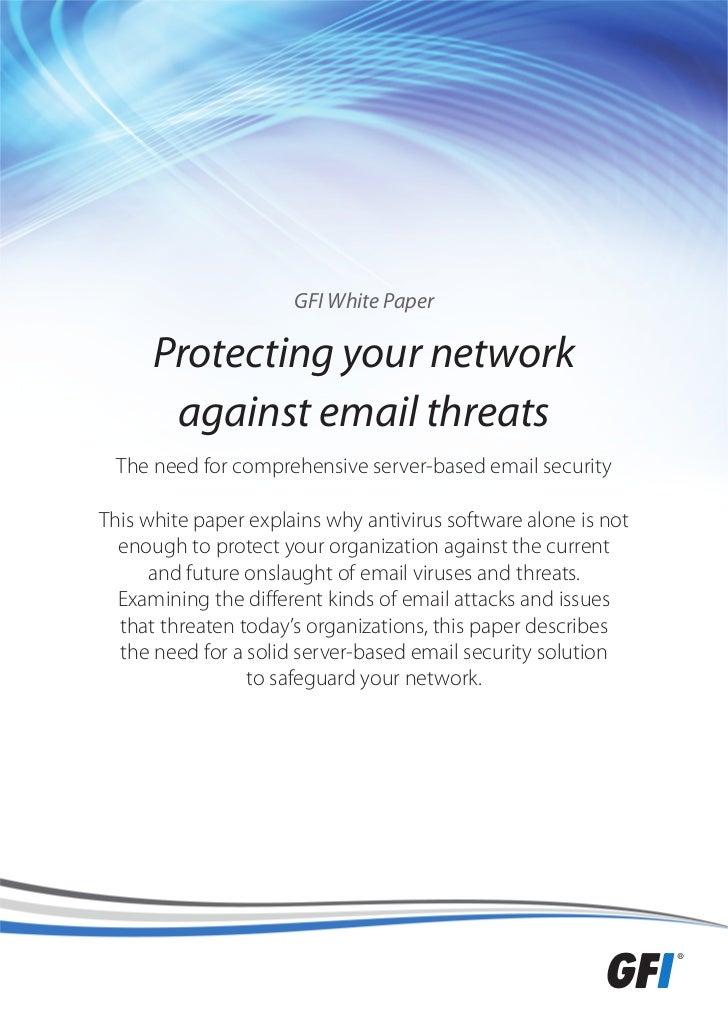 Internet email threats