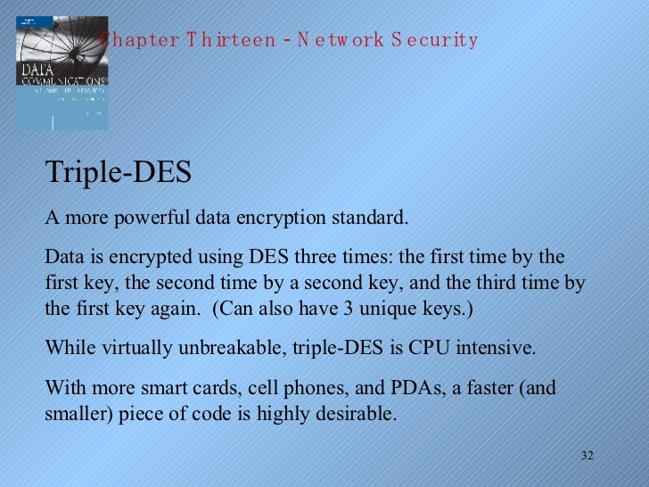 research paper on data encryption standard