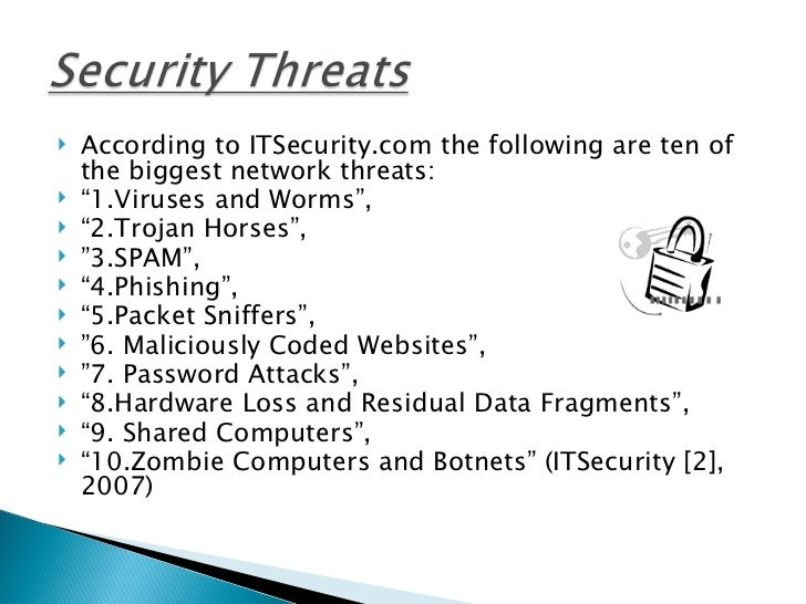 the various threats caused by computer hackers Today's 10 most common security threats on the as these may cause the handset to hang or than on notebook or desktop computers next-generation hacking.