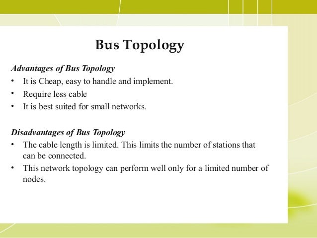 Network topologies bus topology advantages publicscrutiny Gallery
