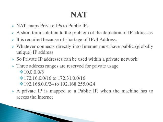 network address translation 2 | stratix 5700 nat whitepaper what is nat network address translation is a service that can translate a packet from one ip address to another ip address.