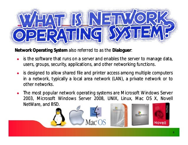 Network and Mobile Operating System