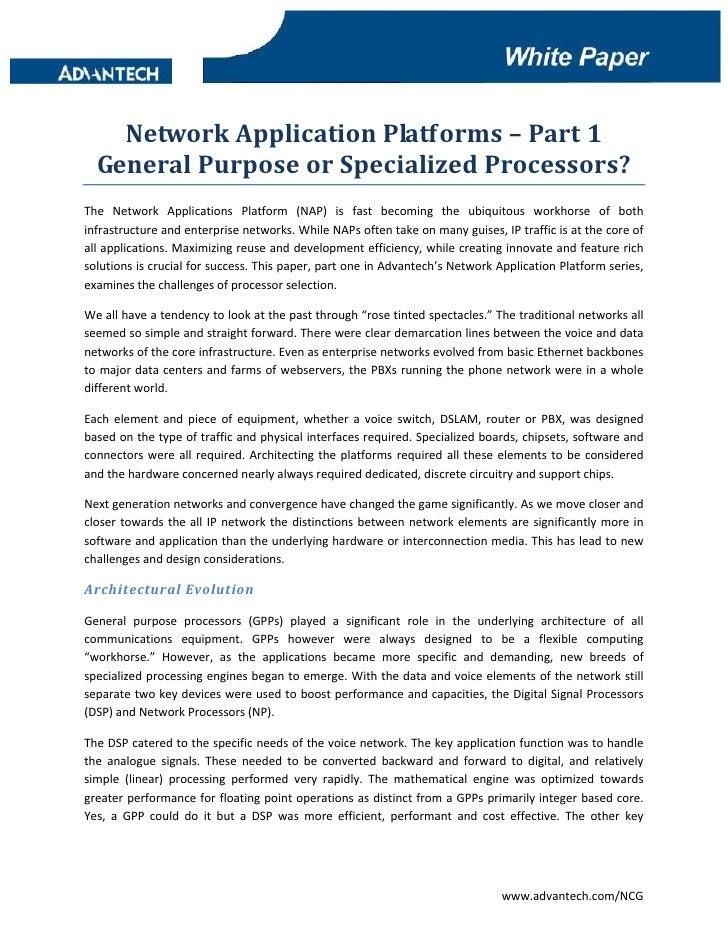 dd            NetworkApplicationPlatforms–Part1     GeneralPurposeorSpecializedProcessors? The Network Appl...
