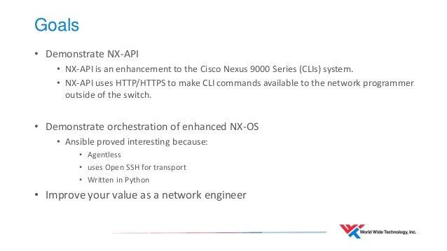 Network automation ansible_nx-api